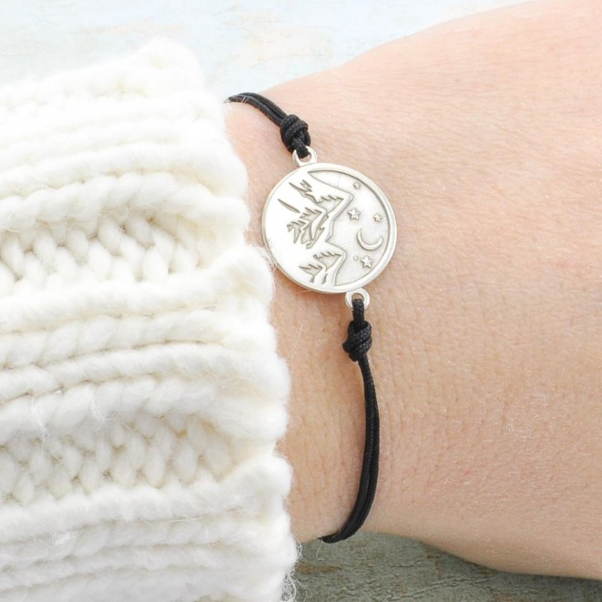 Mountain Bracelet with Mountain Charm