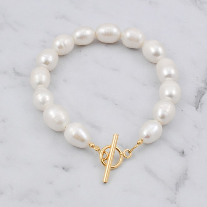 Natural Pearls Bracelet