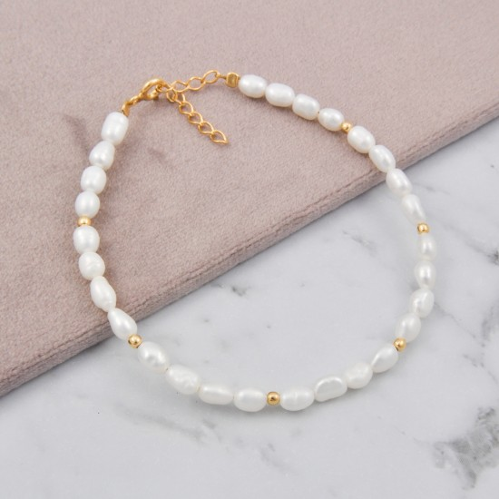 Small Natural Pearls Bracelet